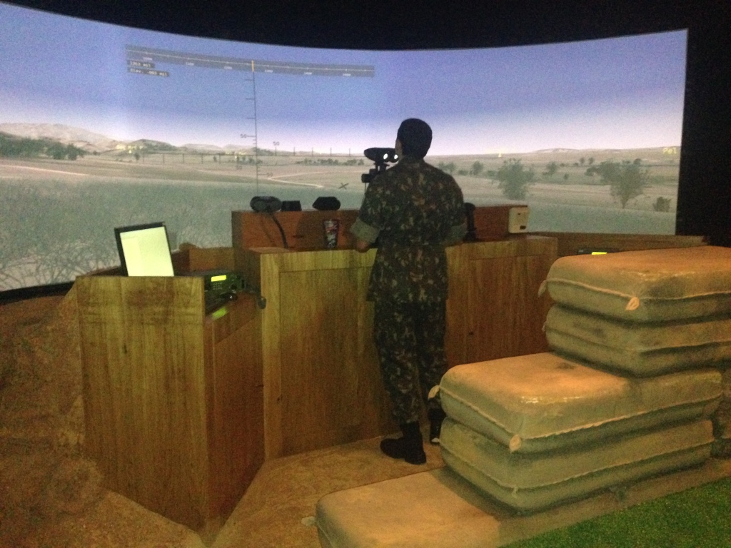 Brazilian Army Incorporates New Firearms Simulator for Military Training