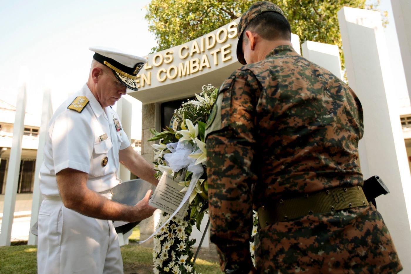 Admiral Tidd Reaffirms SOUTHCOM'S Commitment to El Salvador