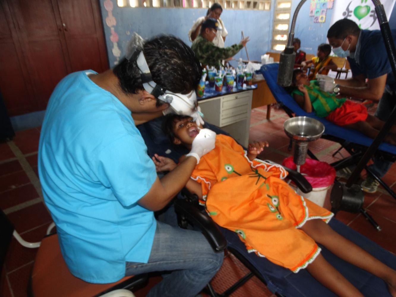Colombian Navy Battles Childhood Malnutrition in La Guajira