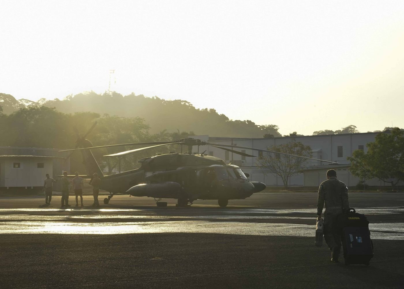 JTF-Bravo Firefighting Ops Wrap up in Panama