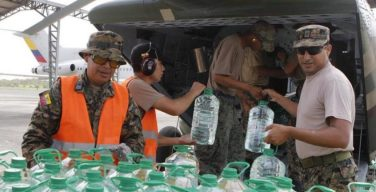 Military Forces from around the World Assist Ecuador in Earthquake Recovery