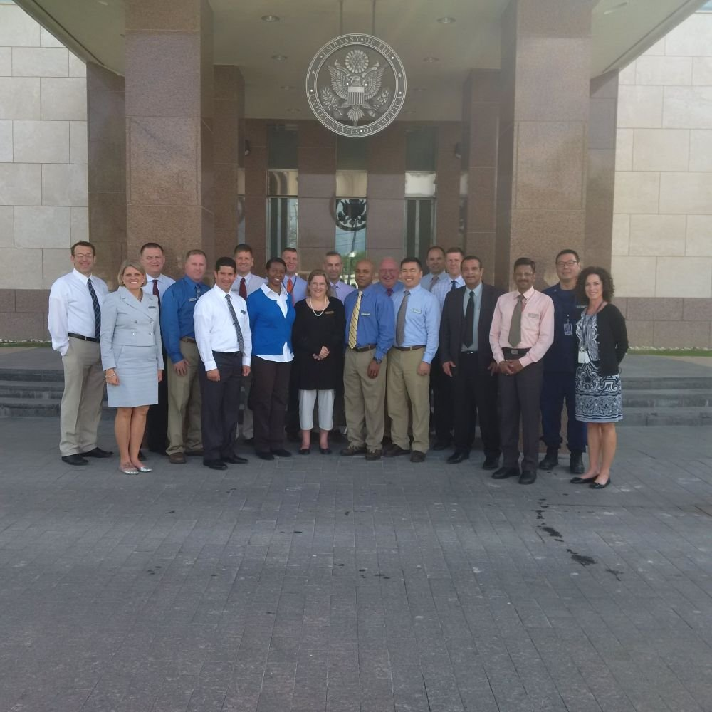 U.S. Army War College Students View Security Efforts in Haiti