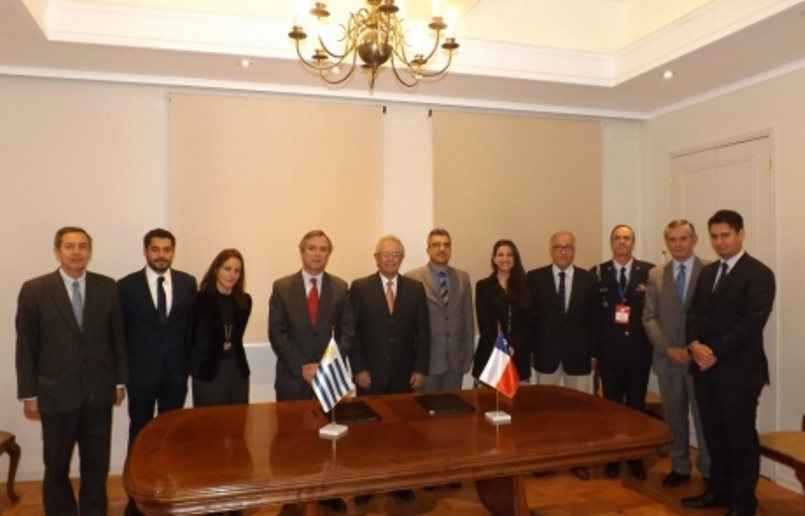 Uruguay and Chile Boost Cooperation against Terrorism and Organized Crime