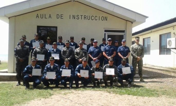 Honduran Naval Force Takes Course on Boarding