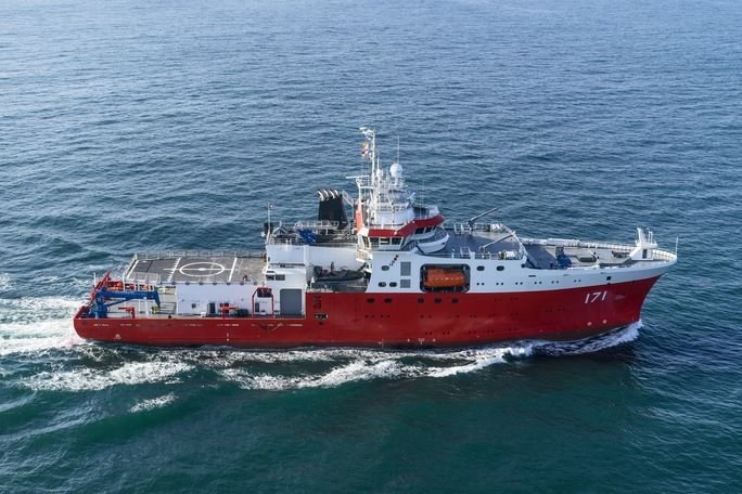 BAP Carrasco, One of the World's Best Oceanographic Ships