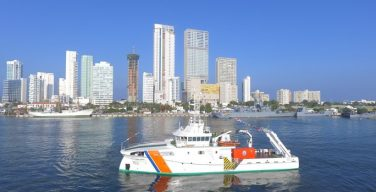 Colombia Debuts Scientific Research Ship