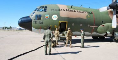 Argentine Air Force Provides Humanitarian Aid to Peru