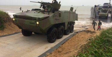 Brazilian Navy Conducts Mock Amphibious Exercise