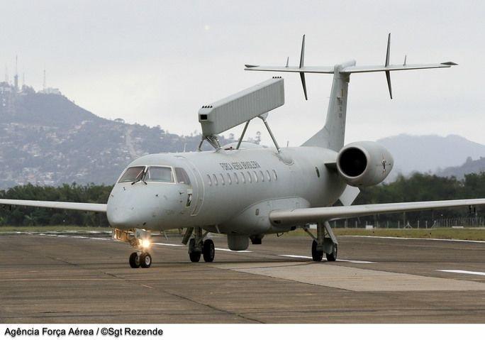 Brazilian Air Force E-99 Planes Undergo Modernization