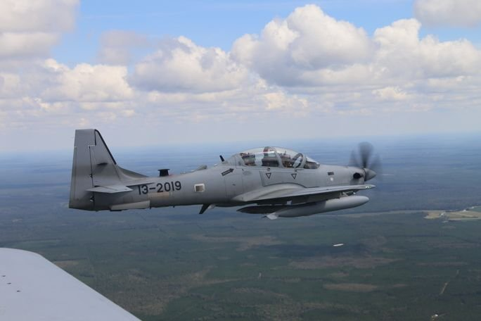 A-29 Used to Train Fighter Pilots