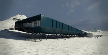 Brazilian Navy Rebuilds their Research Station in Antarctica