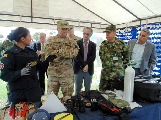 SOUTHCOM and the Colombian Army Step up their Activity in the Fight for Humanitarian Demining