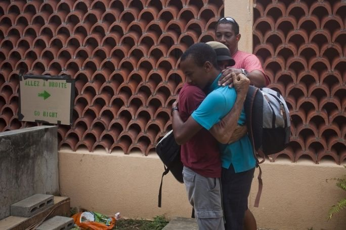 U.S. Military Efforts in Dominica Reunite Father, Son