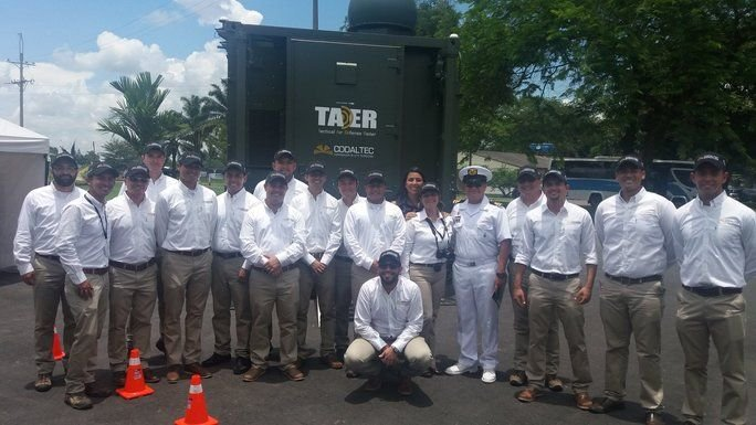 Colombian Air Force Builds First Tactical Air Defense Radar