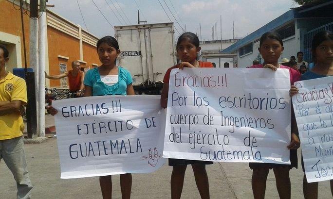 Army Steers Guatemala's Development Train