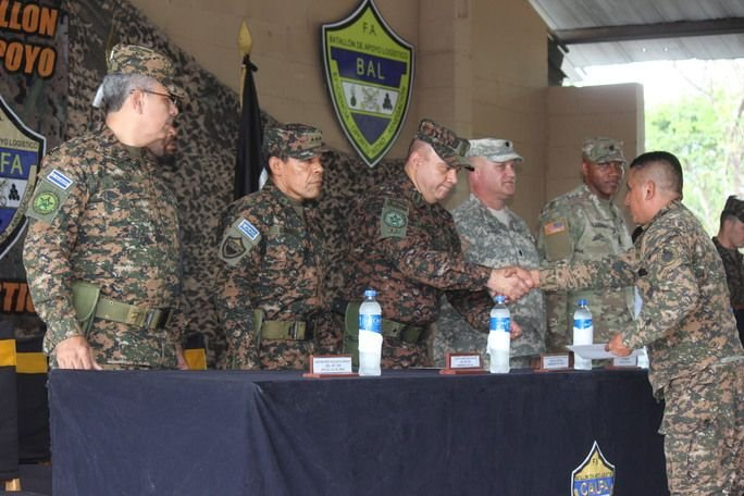 Salvadoran Armed Force Achieves Higher Level of Logistical Specialization