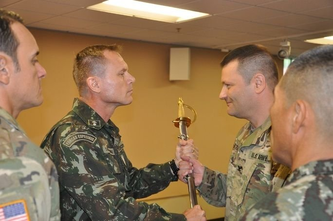 WHINSEC Installs International Command Sergeant Major
