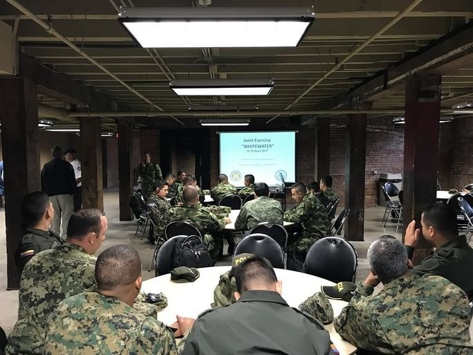 WHINSEC Joins CEMA for a Disaster Response Exercise