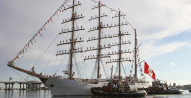 Peruvian Navy's BAP Unión Training Ship Sets Sail on its First Instructional Cruise