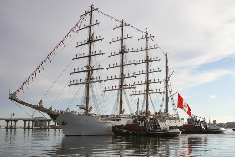 Peruvian Navy's BAP Unión Training Ship Sets Sail on its First Instructional Cruise