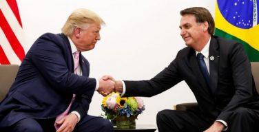Brasil, segundo país sudamericano no-OTAN socio de EE. UU.