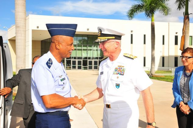 US Southern Command Hosts Brazilian Chief of Defense