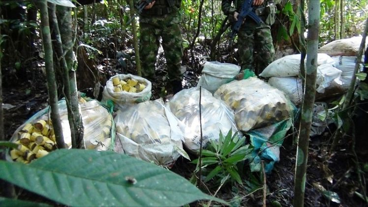 Colombian Army Discovers Clan del Golfo's Anti-personnel Mines