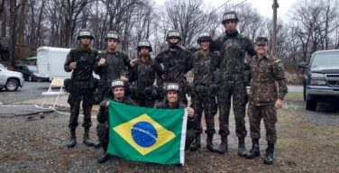 Brazilian Cadets Test Military Skills in US Competition