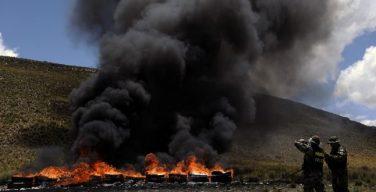 Bolívia revela resultados de uma década de luta contra o narcotráfico
