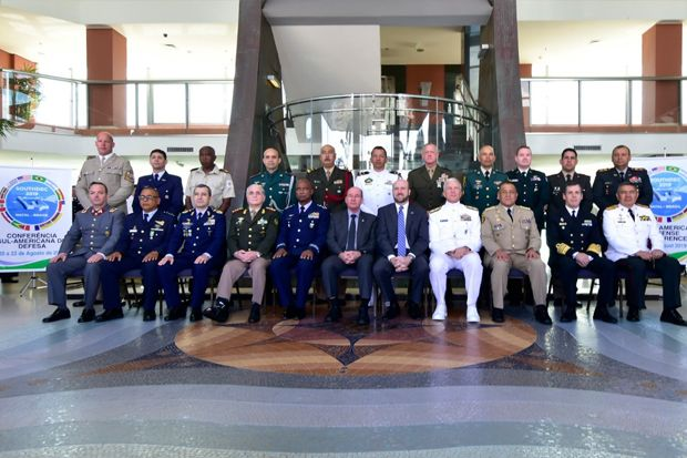 Senior Leaders Discuss Regional Defense Cooperation In Response to Hemispheric Challenges In Brazil