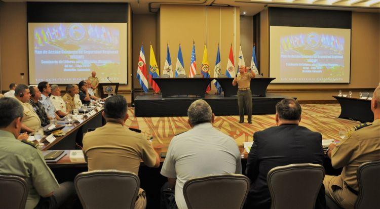 Seminário do Plano de Ação Conjunta de Segurança Regional na Colômbia promove soluções regionais para a segurança