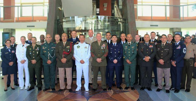Sargentos mayores de Sudamérica se enfocan en la profesionalización de sus tropas