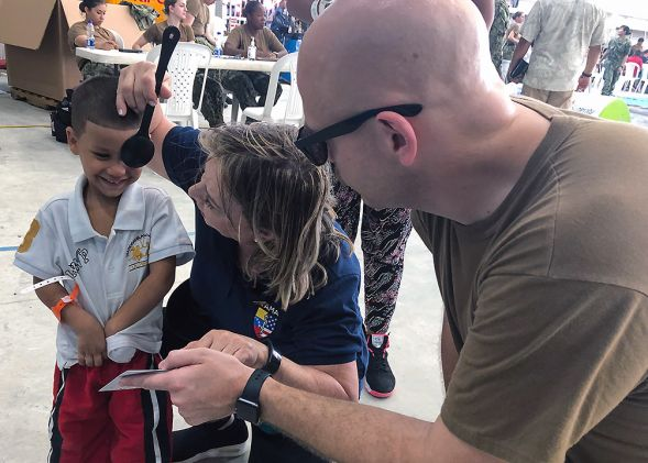 """USNS Comfort Captain Says Mission to """"Assist People"""" Continues"""