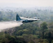 Armed Forces Fight Fires In The Amazon