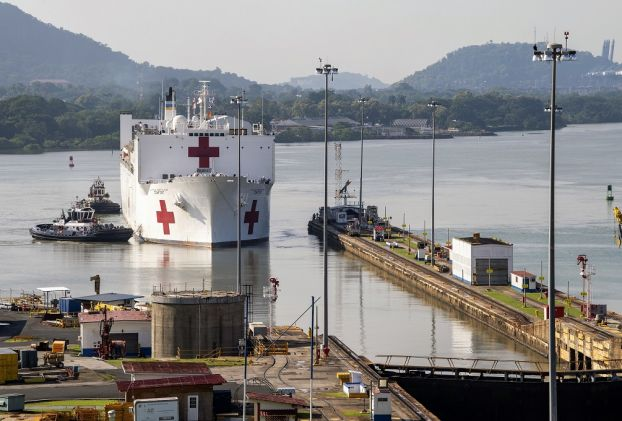 USNS Comfort Starts Providing Medical Assistance in Panama Following Opening Ceremony