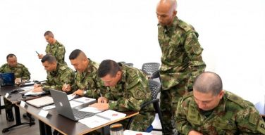 Colombians Assist in Second Cycle of AJSOF NCO Course
