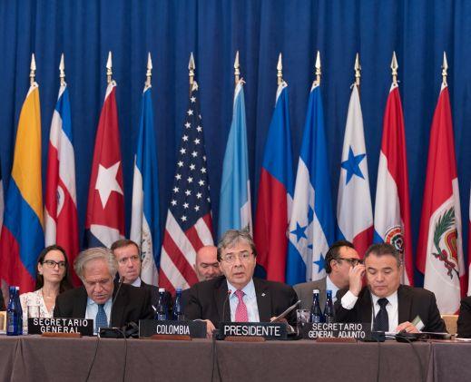 US, Rio Treaty Partners Tackle Maduro Threat