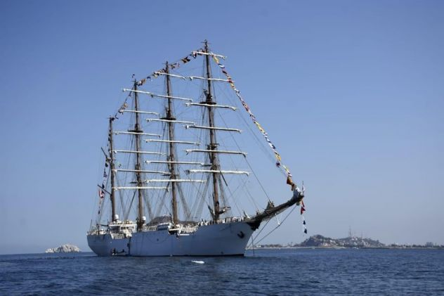 Peruvian Navy Training Ship Concludes Instructional Trip