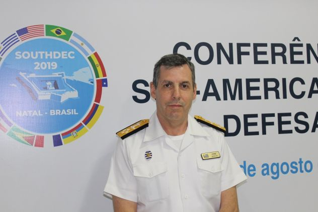 Interview with Admiral Fernando Pérez, head of Uruguayan Defense Joint Chiefs of Staff