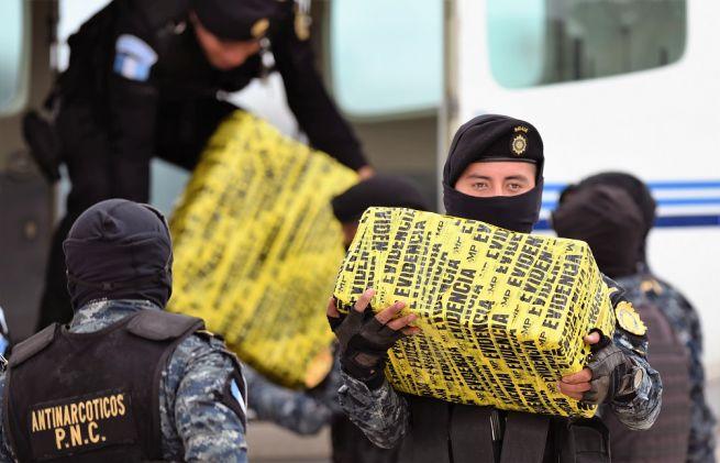 Guatemala adverte que o país se tornou produtor de cocaína