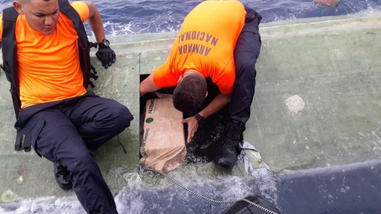 Colombian Navy Continues to Seize Semisubmersibles