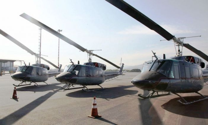 United States Donates Four Helicopters to Costa Rica to Strengthen Fight against Transnational Threats in Central America