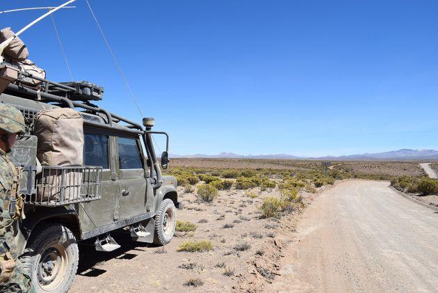 Forças Armadas do Chile emprestam suas capacidades para apoiar a luta contra o narcotráfico