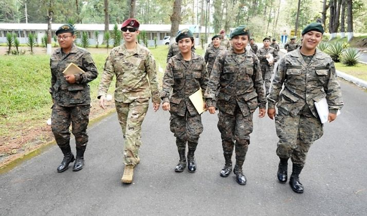 SOCSOUTH, Guatemalan Female Engagement Platoon Exchange Information