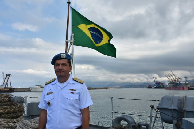 Interview with Brazilian Navy Rear Admiral Eduardo Augusto Wieland, UNIFIL-MTF Commander