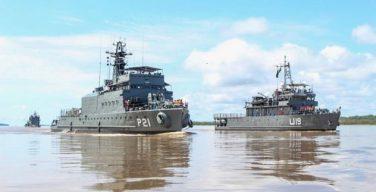 Operaciones multinacionales dan seguridad y servicios a región amazónica