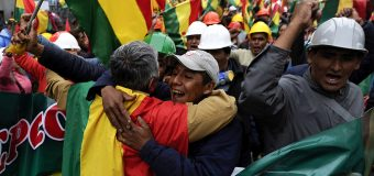 US Applauds Resignation of Bolivian President