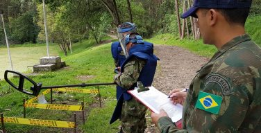 Brazil Supports Demining Actions In Colombian Territory