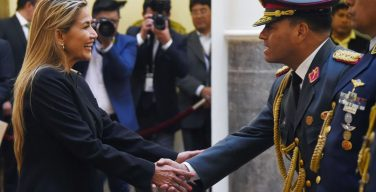 Interim President Áñez Names New Military Leadership And Denies Coup In Bolivia