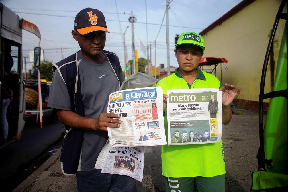 Daniel Ortega Smothers The Press